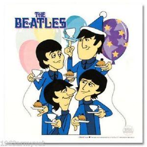 The Beatles Cartoon Ltd Ed Sericel Animation Cel Tea And Crumpets Ebay