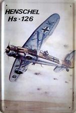 Blechschild Flugzeug Fokker Dr.1 Triplane Fighter Metallschild Wanddeko tin sig