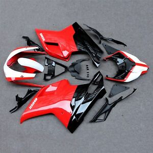 ABS-Injection-Fairing-Bodywork-Panel-Kit-Set-Fit-for-Ducati-848-1098-1198-07-12