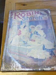 Robin Starch vintage advertising poster