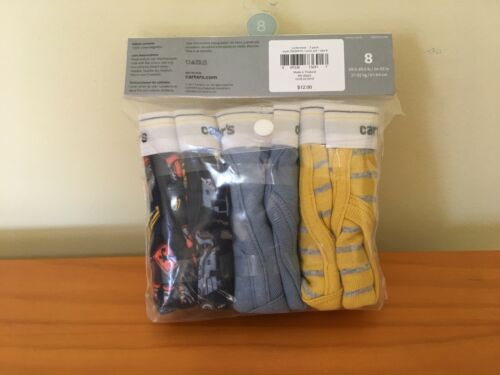 NWT Carter/'s Boys Brief Underwear 3pair//pack Trucks stripes