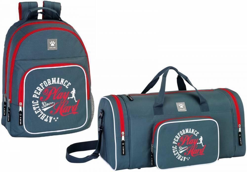 Kelme Zaino XL Sacca Sportiva Backpack Borsone Viaggio Borsa Tracolla