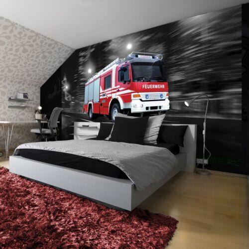 Papier Peint papiers peints photos papier peint poster rouge voiture pompiers alarme 3fx2022p8