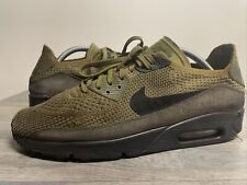Size 9 - Nike Air Max 90 Ultra 2.0 Flyknit Olive Flak for sale ...