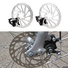 Bike Disc Brake Front & Rear Disc 160 mm Rotor Brake Kit for Mountain Bicycle