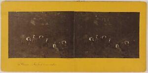 Italia-Vesuvio-Foto-Amateur-Stereo-Th1L5n-Vintage-c1910