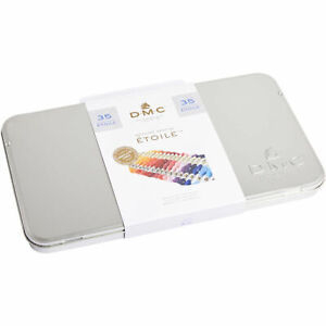 DMC-Special-Edition-Etoile-Embroidery-Floss-Tin-w-35-New-Colors-617B-NEW
