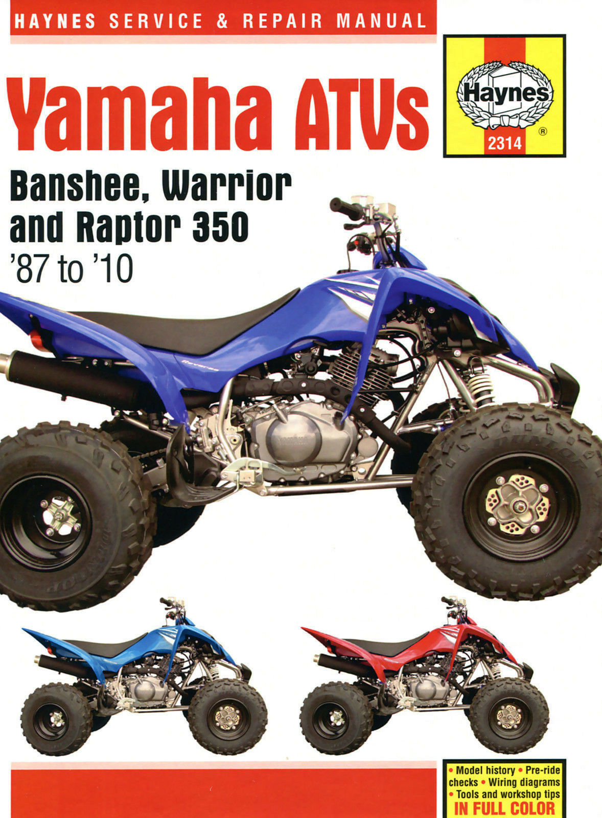 Antiparasite pour Quads Yamaha Blaster 200 yfs de 1988 à 2006