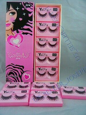 False Eyelashes 10 pairs Fashion Makeup Japanese style CUCI YOURS #124