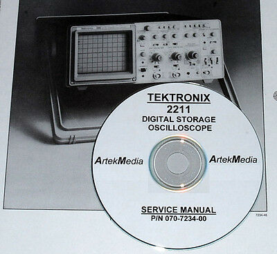 tektronix 2211 oscilloscope service manual ebay rh ebay com Tektronix Digital Oscilloscope tektronix 2211 oscilloscope manual