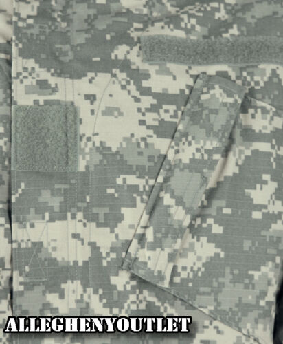 COAT  ACU Digital Camo 50//50 Ripstop Army USGI NWT US Military COMBAT SHIRT