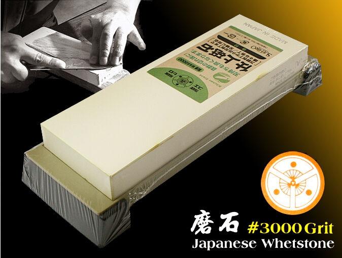 SuEHIRO Japonais Waterstone  3000 Grit combiner Titulaire Sharpen Stone