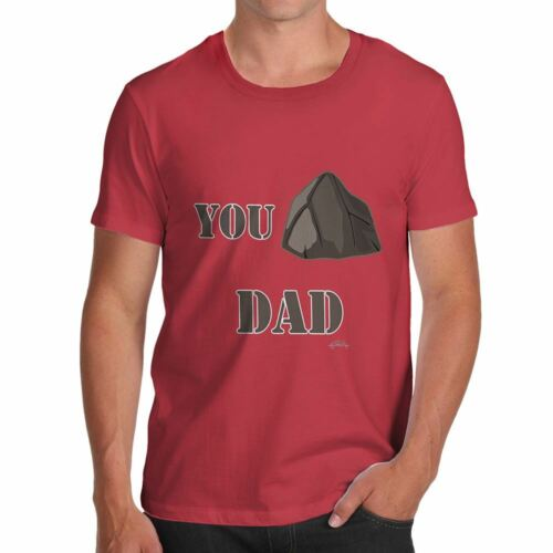 You Rock Dad  Novelty T-shirt For Dad