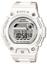 Casio Baby-G Damen-Armbanduhr BLX-100-7ER Digital Quarz Resin Weiß Grau 45 mm