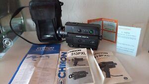 camera-super-8-chinon-313P-XL-en-bon-etat-avec-notices-et-sac-pas-terrible