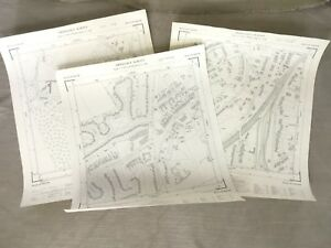 1960-Vintage-Map-of-Surrey-Frith-Hill-Hampshire-Guildford-Vintage-Job-Lot-Maps