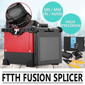 JW4108S Soudeuse à Fibre Optique Épisseur Fusion Splicer avec Cliveuse Komshine