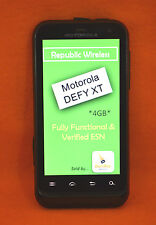 REPUBLIC WIRELESS, MOTOROLA XT557D (DUAL BAND) DEFY, FOR PARTS/REPAIRS ONLY