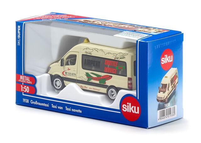 Siku Super 1:50 de Metal + Piezas de Plástico 1938 Taxi Grande
