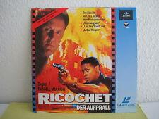 Ricochet - Der Aufprall - Laserdisc Pal Deutsch - Limitierte Auflage - SEHT GUT