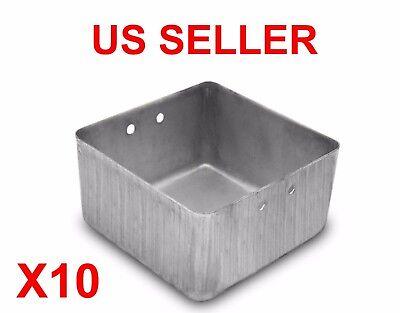 NEW Steel Small Parts Organizer 3X3 Bins for Tool Box Storage Metal X10