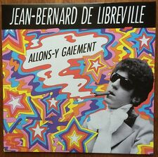 JEAN-BERNARD DE LIBREVILLE Allons-y gaiement 1969 French 60s PSYCH Unissued ►♬