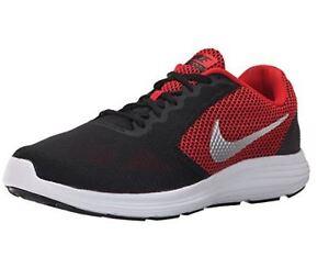 Image is loading Nike-Revolution-3-Running-Shoe-University-Red-Metallic-