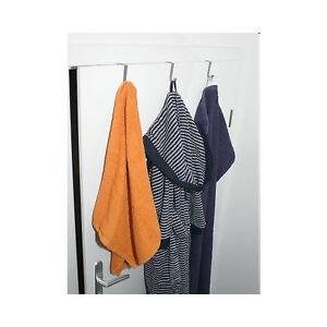5 t rhaken braun t r haken aufh nger bademantel badehandtuch handtuch ebay. Black Bedroom Furniture Sets. Home Design Ideas