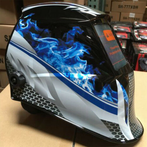 Solar Auto Darkening Welding Helmet Tig Mig Mask Grinding Protective Shield #