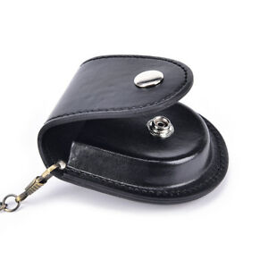 1x-PU-leather-pocket-watch-holder-storage-cases-coin-purse-pouch-bag-chains-BF