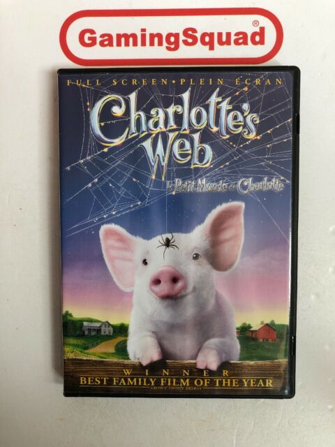 Charlotte's Web NTSC DVD, Supplied by Gaming Squad