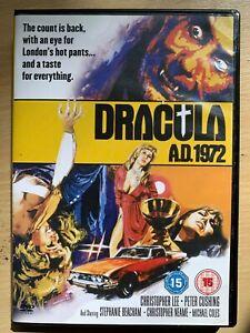 Dracula-A-D-1972-DVD-Britanico-Martillo-Pelicula-de-Terror-Clasico-con