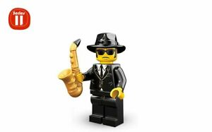 LEGO-Minifigures-Series-11-71002-N-12-Saxophone-Player-NEW-SCELLEE