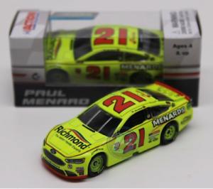 NEW-NASCAR-2018-PAUL-MENARD-21-RICHMOND-MENARDS-FORD-1-64-CAR