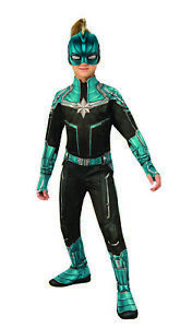 Kree Suit Captain Marvel Girls Child Teal Superhero Halloween Costume Ebay A wide variety of captain marvel costume options are available to you, such as supply type, costumes type, and holiday. details about kree suit captain marvel girls child teal superhero halloween costume