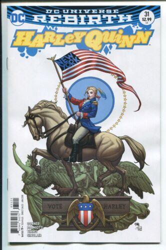 FRANK CHO VARIANT COVER HARLEY QUINN #31 REBIRTH DC COMICS//2017