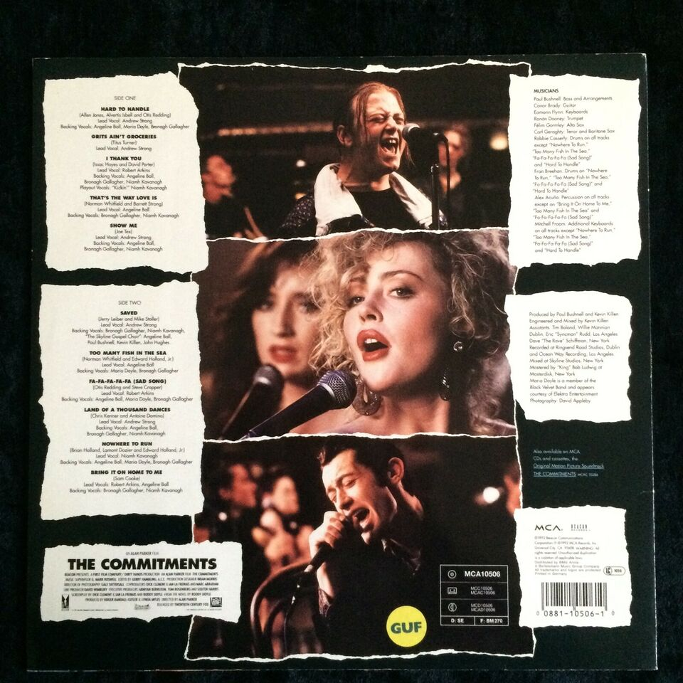 LP, The Commitments, The Commitments Vol. 2