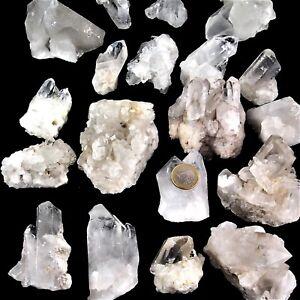Mineralien & Fossilien Bergkristall Sand Granulat Dekochips Spitzen Dekosteine Wassersteine Edelsteine