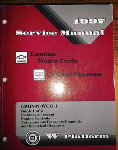 Chevrolet lumina 1995-2001 factory service repair manual.