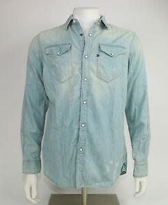 G-STAR-Camisa-tacoma-RE-Camiseta-L-S-83850c-5664-4441-Vintage-Lt