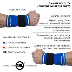 Gymnast Wrist Support Straps Heavy Duty Olympic Sports Gym Powerlifting S//M//L//XL