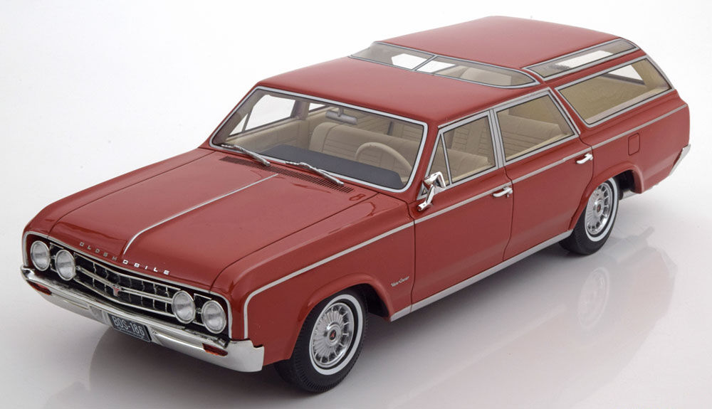 1964 Oldmobile Vista Cruiser Light Brown by BoS Models LE of 1000 1 18 Scale New