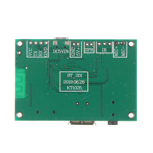 BT201 Dual Mode 5.0 Bluetooth Lossless Audio Power Amplifier Module Tf Card#