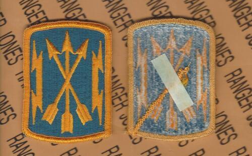 U.S Army Soldier Media Center dress uniform patch m//e