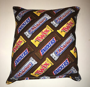 Twix-Candy-Pillow-Snickers-amp-3-Musketeers-Candy-Pillow-HANDMADE-in-USA-Pillow
