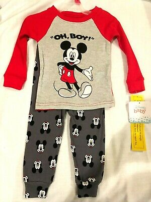Mickey Mouse Baby-Boys Long Pajamas