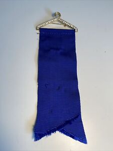 Vintage Rhinestone Clothes Hanger American Legion Auxiliary Pin Holder Ribbon