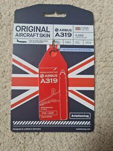 Aviationtag BRITISH AIRWAYS A319 Red
