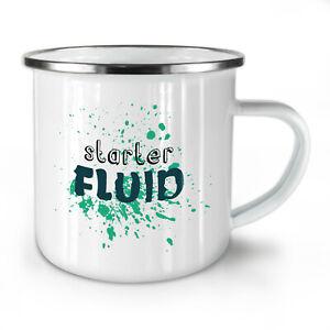 Morning Coffee NEW Enamel Tea Mug 10 oz | Wellcoda