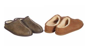 NEW-Kirkland-Men-039-s-Sheepskin-Shearling-Lightweight-Clog-Slippers-Variety